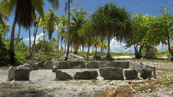 Die Phoenixinseln sind mit ihren acht, weitgehend unbewohnten Atollen nur 28 Quadratkilometer groß. Bild: ARTE F / © PDJ Production