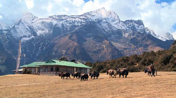 Der Manaslu in Nepal ist mit einer Höhe von 8.163 Metern der achthöchste Berg der Erde. Der Manaslu liegt im Distrikt Gorkha und sein Name stammt aus dem Sanskrit, was Berg der Seele bedeutet. Bild: ARTE F / © System TV