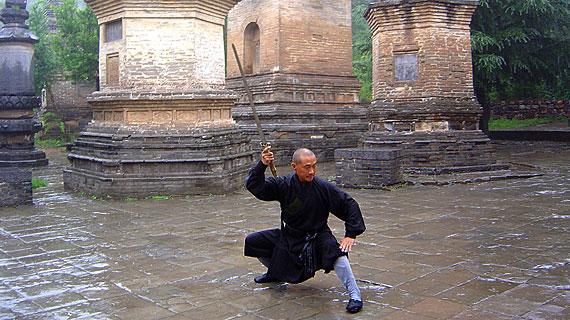 Ein Meister der Shaolin-Kung-Fu-Schule in Dengfeng Bild: ARTE F