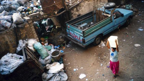 Seit Generationen verlassen sich die Bewohner Kairos auf die Zabaleen und deren Dienste, um ihren Abfall loszuwerden. Bild: ARTE F