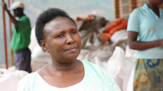Eine der erfolgreichsten Unternehmerinnen in Ruanda: die Kaffeeproduzentin Epiphanie Mukashyaka Bild: ARTE / © MedienKontor FFP