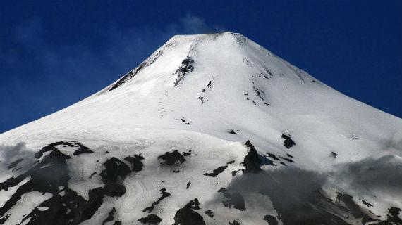 Der Villarrica, einer von 123 sehr aktiven Vulkanen in Chile. Bild: HR / © HR/Wolfgang Müller