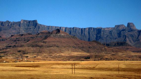 Drakensberge. Bild: PHOENIX/ARD-Studio Johannesburg