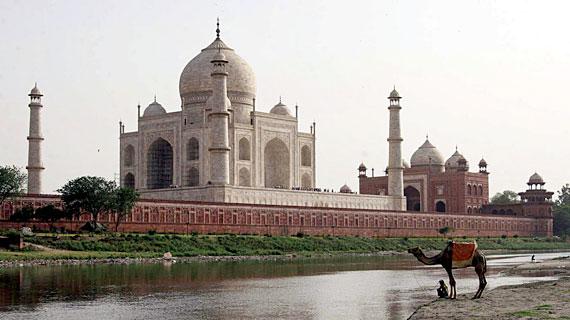 Der Taj Mahal - Monument einer Leidenschaft. Bild: ZDF / © Guy Mertin