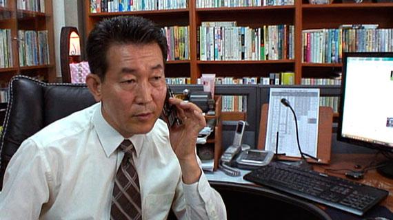 Pastor Chun Ki Won hilft Nordkoreanern bei der Flucht. Bild: PHOENIX/WDR