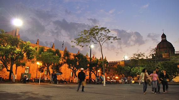 Bild: SWR/Goggo Gensch, Placa Liberacio Guadalajara