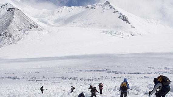 Himalaya - der Gipfel des Glücks, Blinde Kinder wagen den Aufstieg, Film von Lucy Walker, in der Reihe Der Dokumentarfilm im Ersten, Bild: SWR/Paul Kronenberg