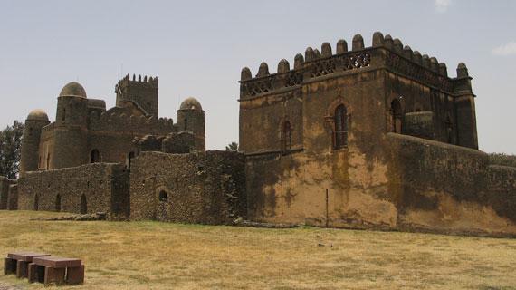 Schloss in Gondar. Bild: BR / © IWC Media