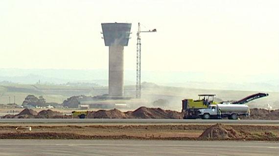 Flughafen Durban, Tower. Bild: SWR