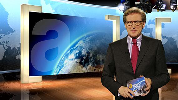 Theo Koll, Moderator des auslandsjournal. Bild: ZDF/Kerstin Bänsch