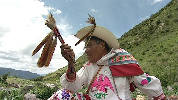 Für die Huicholes hat Real de Catorce eine mythische Bedeutung - der Ort verkörpert die Welt der Sonne. Bild: SWR