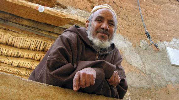 Der Händler Mohamed Benayha. Bild: HR/Annekarin Lammers
