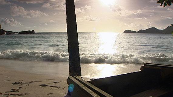 Traumstrand auf den Seychellen. Bild: PHOENIX/NDR