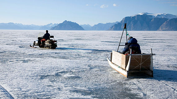 Uummannaq, Greenland. Bild: PHOENIX/ZDF/BBC/Jonathan Renouf