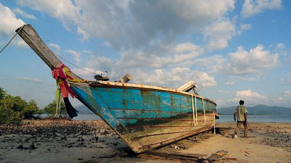 Tropenstrand auf der thailändischen Insel Koh Ra. Bild: PHOENIX/WDR/Robert Hofrichter