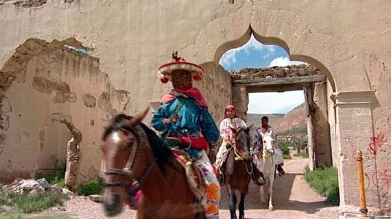 Die Huicholes, ein Indigena-Stamm im Norden des Landes. Bild: PHOENIX/ARD-Studio Mexiko